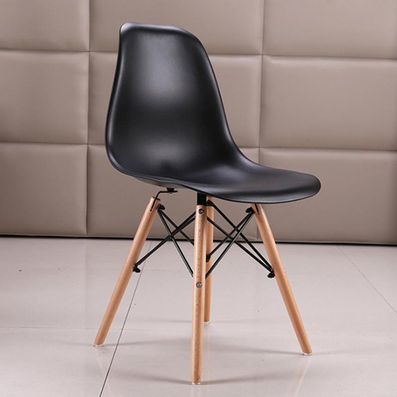 [Ghế cafe][Ghế văn phòng] Ghế Eames Lưng nhựa chân đan Hàng nhập khẩu cao cấp