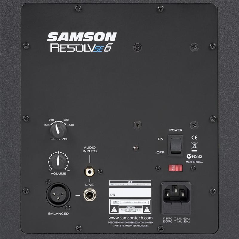 Loa Kiểm Âm Phòng Thu Samson Resolv SE6 (01 Chiếc) - Hàng chính hãng
