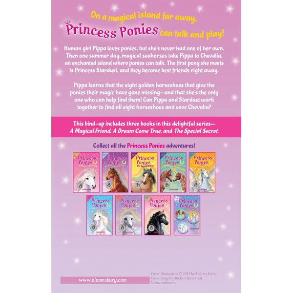 Princess Ponies Bind-up Books 1-3