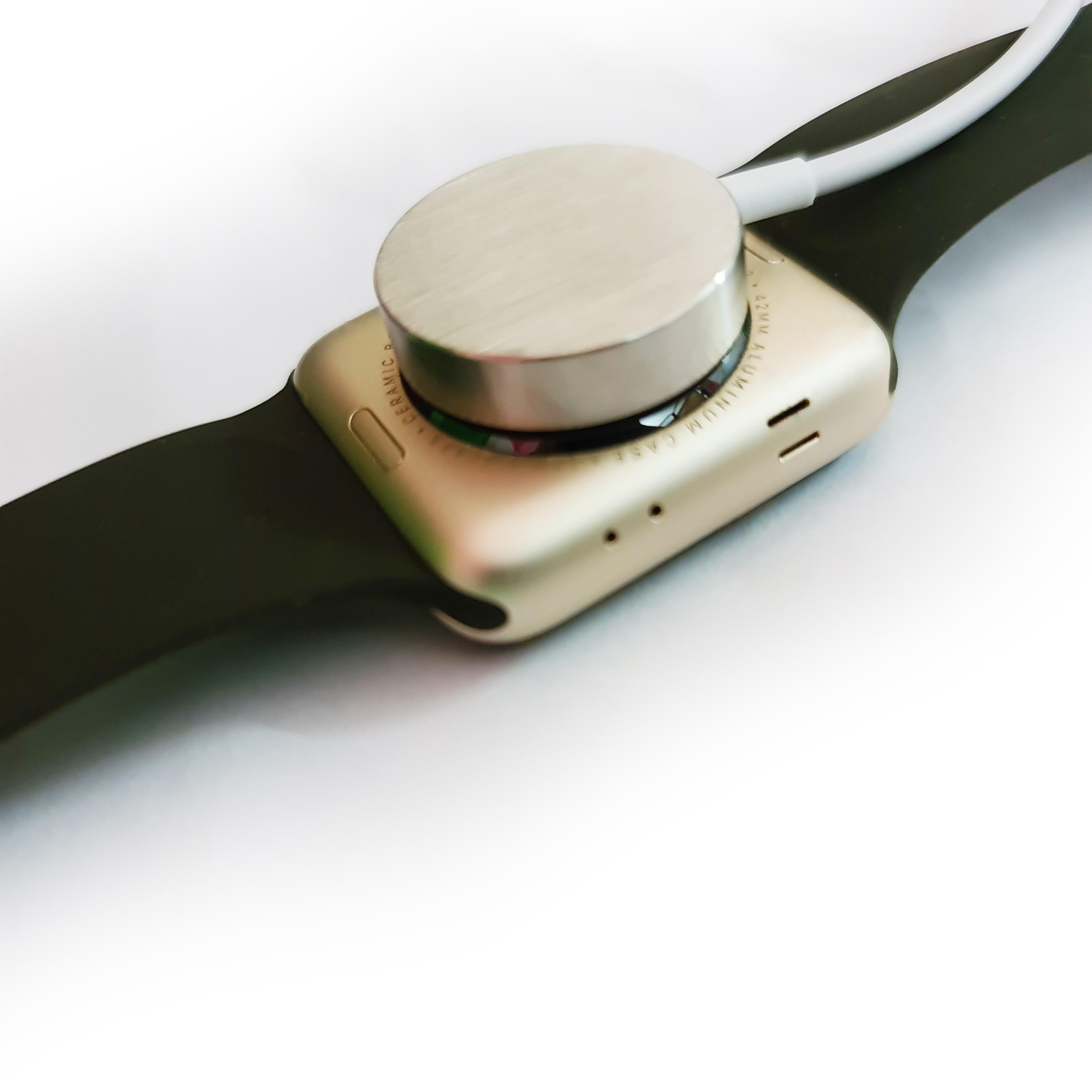 Dock Sạc Cáp Sạc Từ Không Dây Kim Loại Cho Apple Watch Thế hệ 1 2 3 4 5 Size 38/42mm 40/44mm