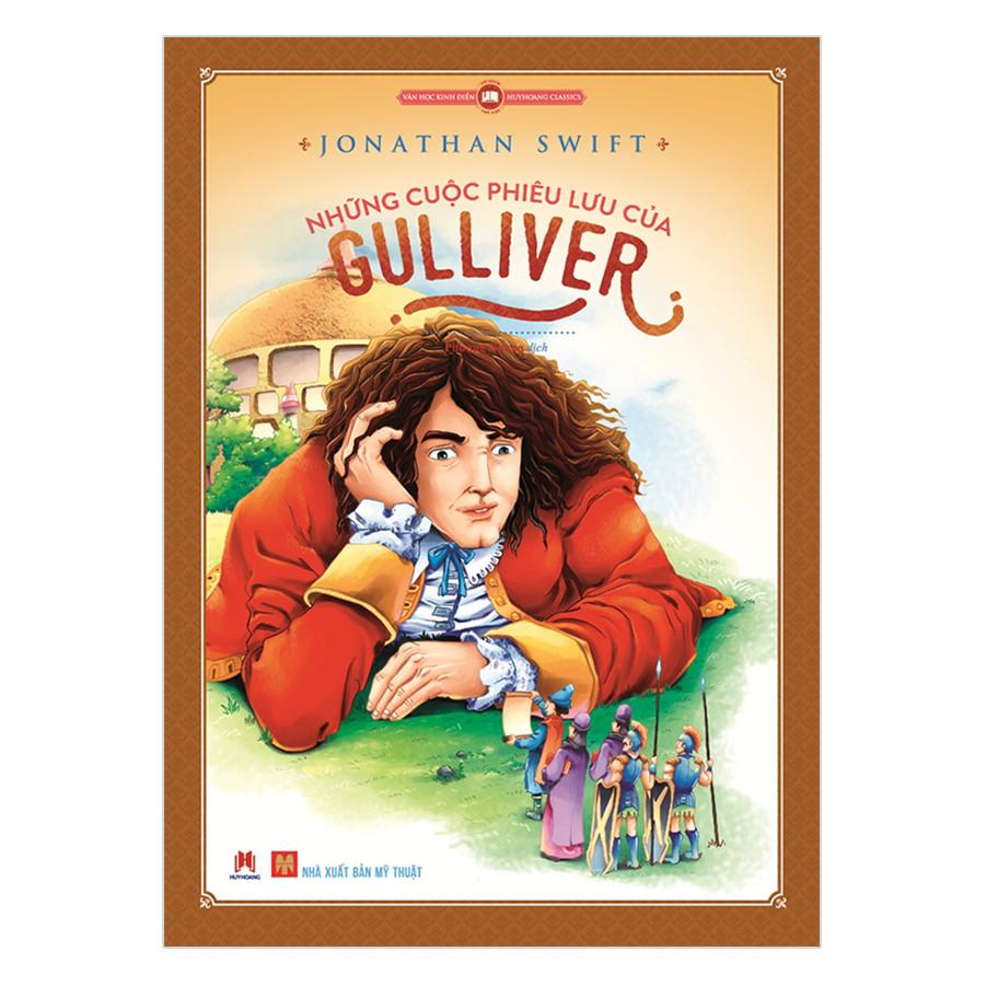 Văn Học Kinh Điển Thế Giới - Những Cuộc Phiêu Lưu Của Gulliver (Tái Bản)