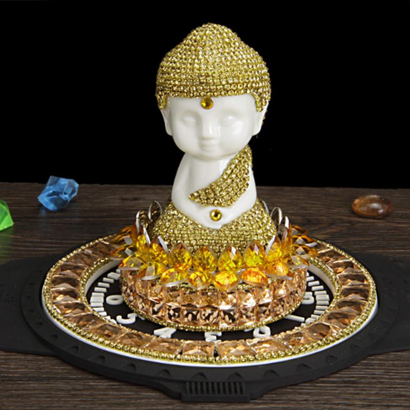 Nước Hoa Ô Tô Tượng Phật Đính Pha Lê