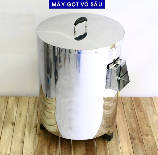 Máy cạo vỏ sấu,vỏ cóc,chất liệu inox  moto 1,1kw