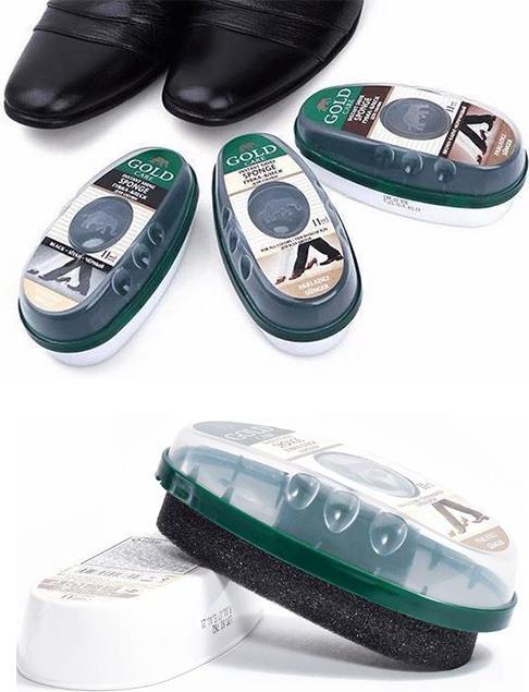 Combo 2 xi mút đánh bóng giày, da GoldCare - GC4002