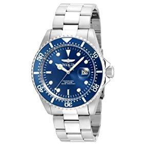 Invicta Men s Pro Diver Quartz Diving Watch with Stainless-Steel Strap, Silver, 22 (Model 22019) 3