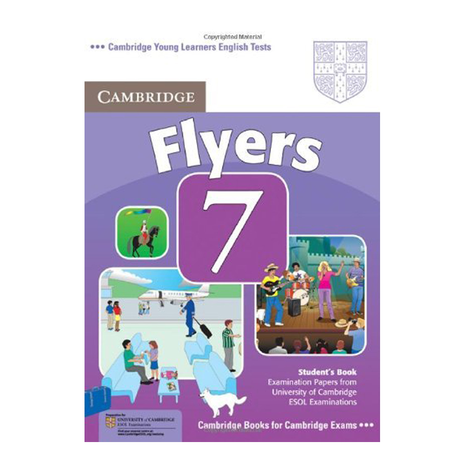 Cambridge Young Learner English Test Flyers 7: Student Book
