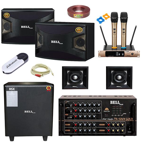 Trọn bộ dàn nghe nhạc và hát karaoke PA 5500 BellPlus (hàng chính hãng )