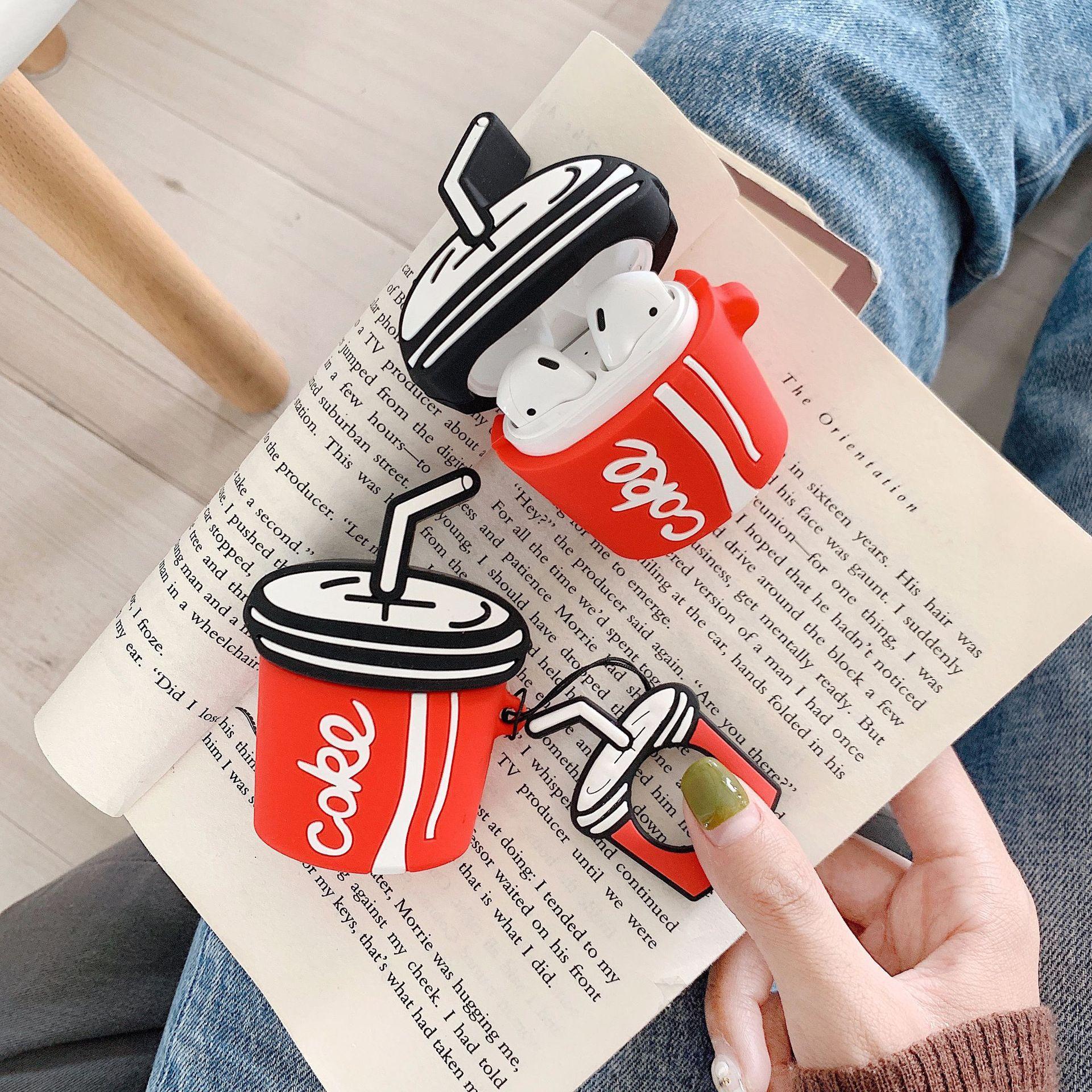 Bao Case Cho Airpods 1/ 2 Hình Ly Coca