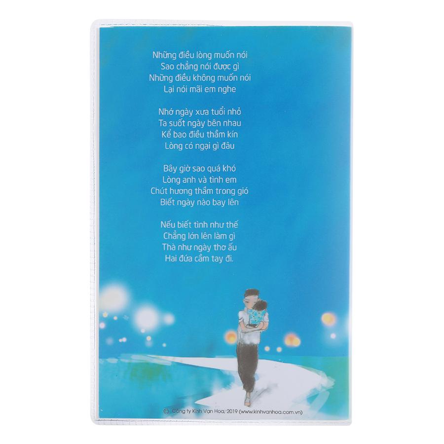 Sổ Tay Kính Vạn Hoa Mắt Biếc - Bản Thường (9cm x 14cm)