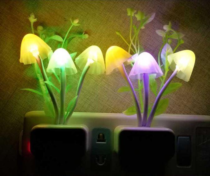 Đèn ngủ cảm ứng đa sắc màu