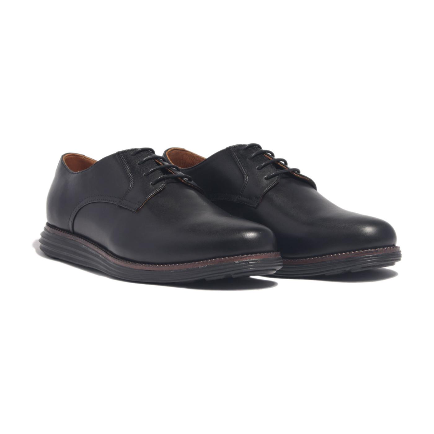 Giày nam cap cấp, phong cách giày sneaker thể thao HMPD1M0 da bò Ý, chính hãng Banuli