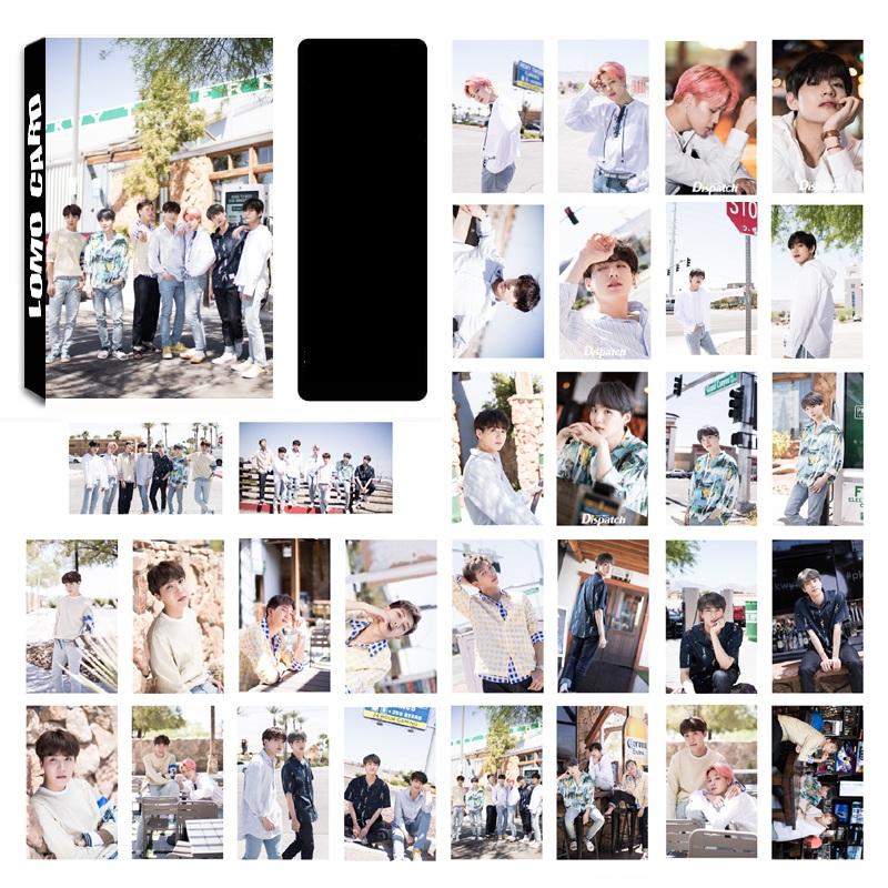 Lomo card BTS mẫu mới
