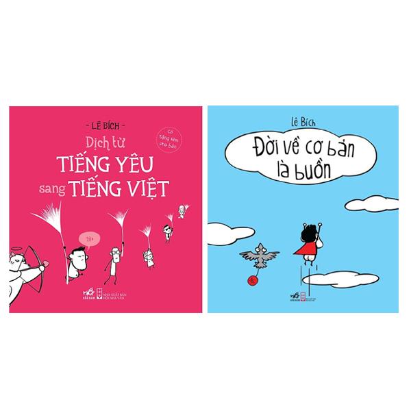 Combo Đời Về Cơ Bản Là Buồn Cười + Dịch Từ Tiếng Yêu Sang Tiếng Việt