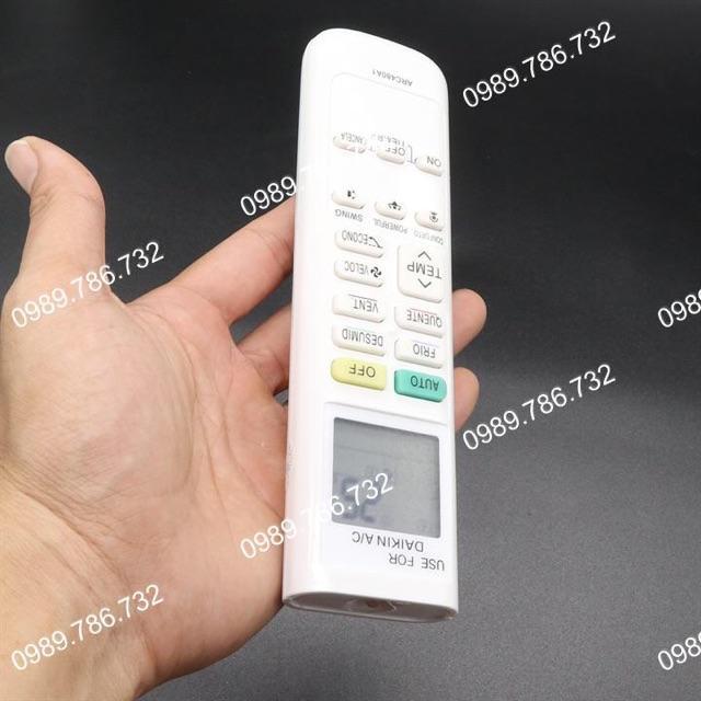 Remote máy lạnh Daikin Inverter - Hàng chính hãng