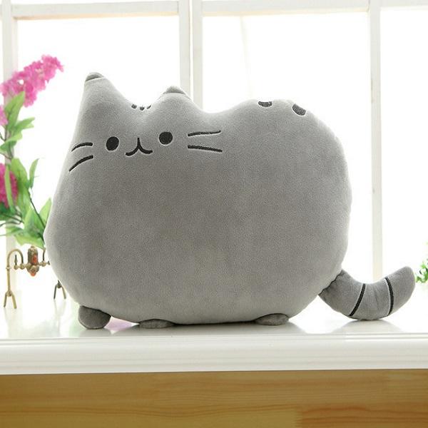 Gối Văn Phòng Hình Mèo Pusheen Siêu Dễ Thương 40cm