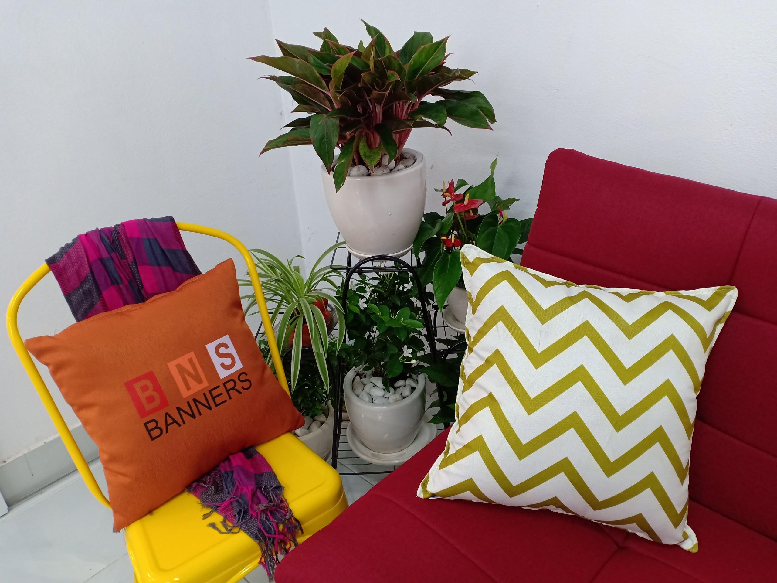 Gối tựa trang trí sofa BNS (45*45 cm)