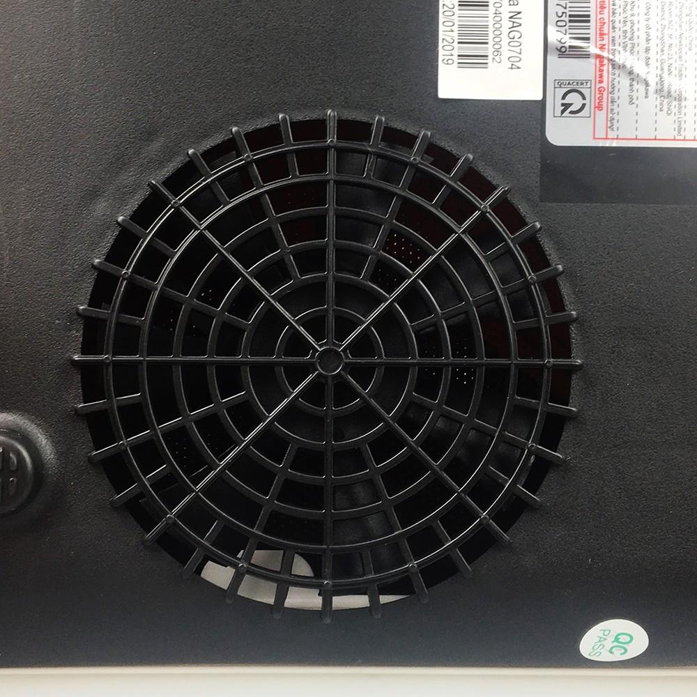 Bếp điện từ mâm đồng 2000W Nagakawa NAG0704 kèm nồi inox size 30cm-hàng chính hãng