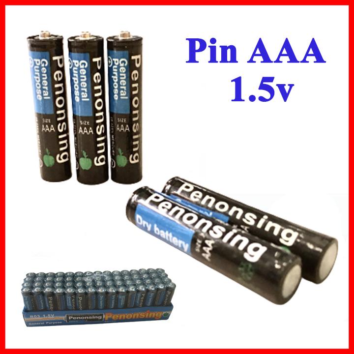 Pin tiểu AAA khô (1 viên) cho thiết bị điện tử, loại tốt không chảy nước