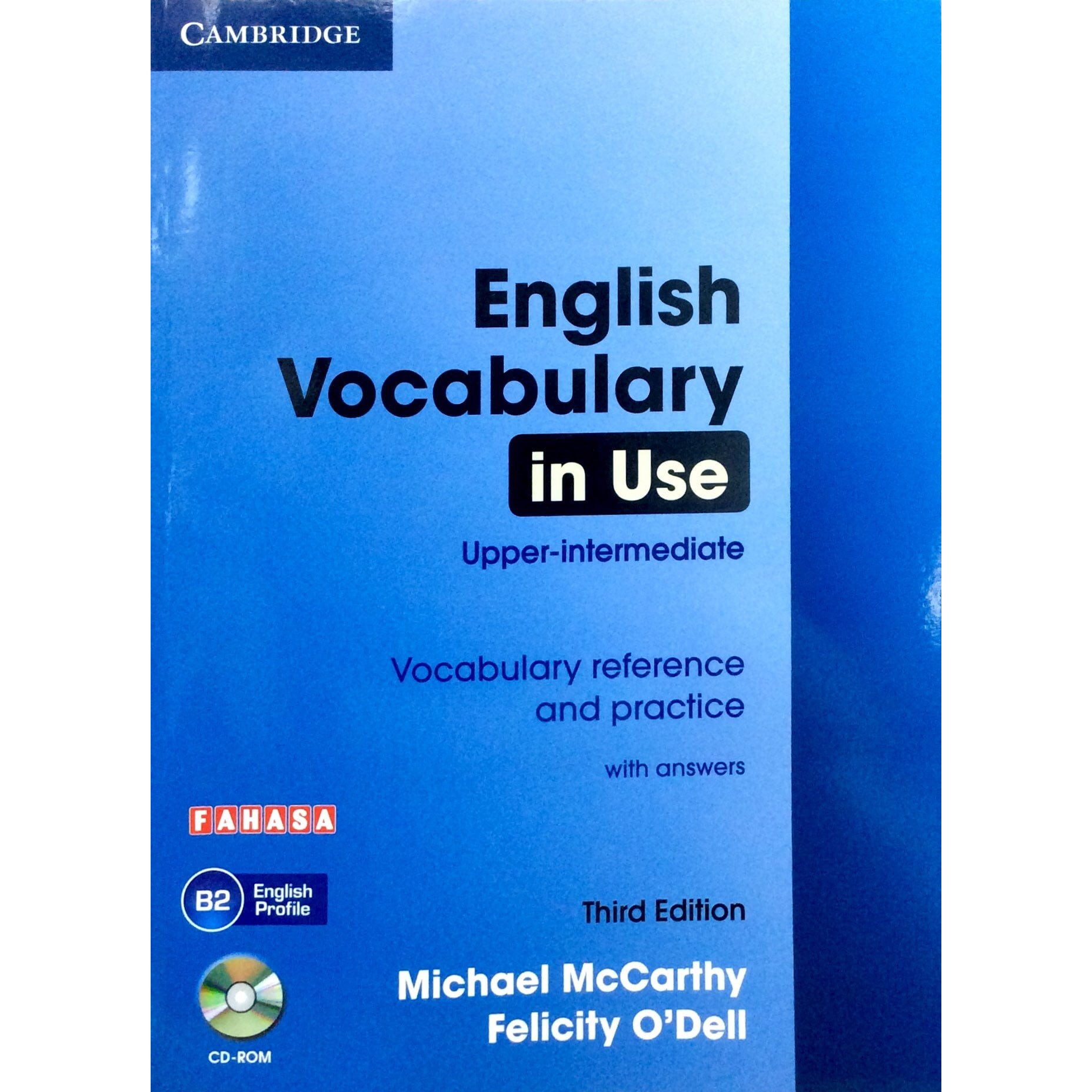 English Vocabulary in Use: Upper-Intermediate Book with Answers Reprint Edition: Vocabulary Reference and Practice
