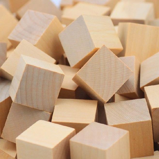 50 khối vuông gỗ vuông 3cm và những ý tưởng sáng tạo từ sản phẩm này