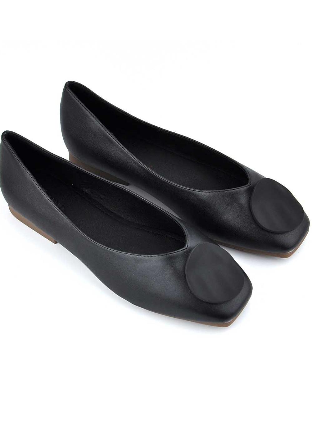 Giày búp bê nữ da phối khóa tròn cao cấp, siêu êm PABNO BH 12 Tháng PN12009