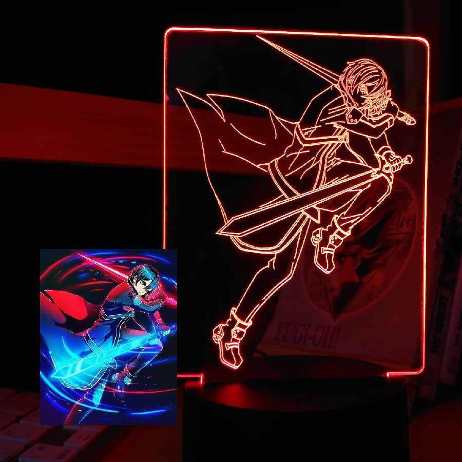 Đèn Ngủ Sword Art Online Kirito Type 02 Đèn Anime Đẹp Ngầu