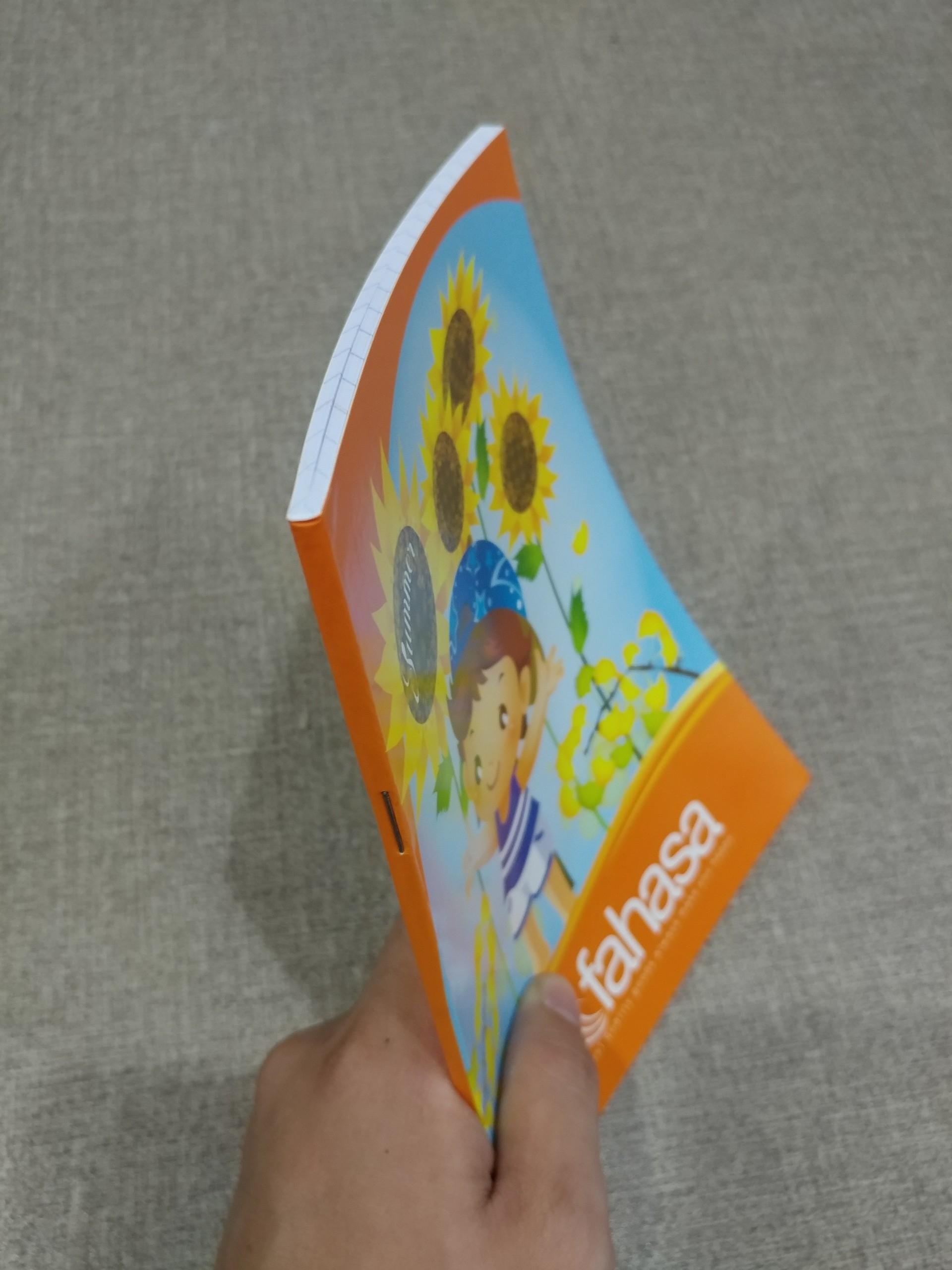 Tập 48 Trang ĐL 120gsm - Hoa Nắng 2 - Màu Cam