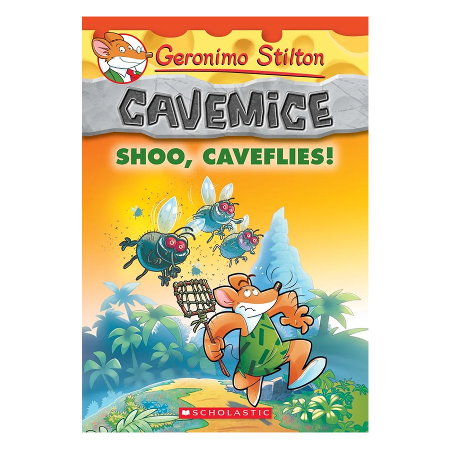 Geronimo Stilton Cavemice 14: Shoo,Caveflies!