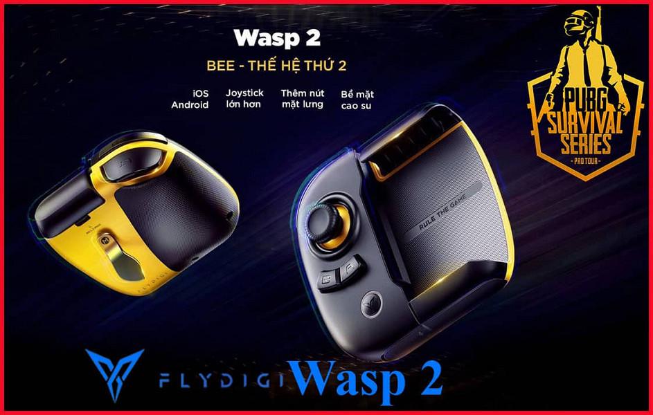 Tay cầm chơi game một bên Flydigi WASP 2 - Hàng Nhập Khẩu