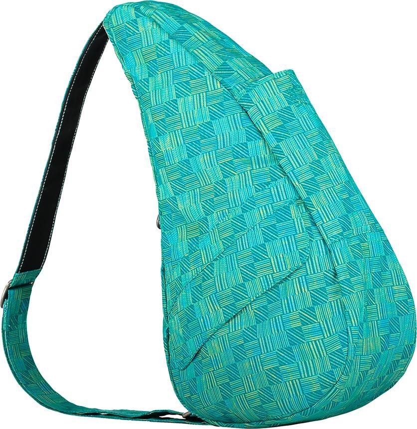 Túi Đeo Chéo Unisex Healthy Back Bag Prints - 6163-GR - Retro Check Green
