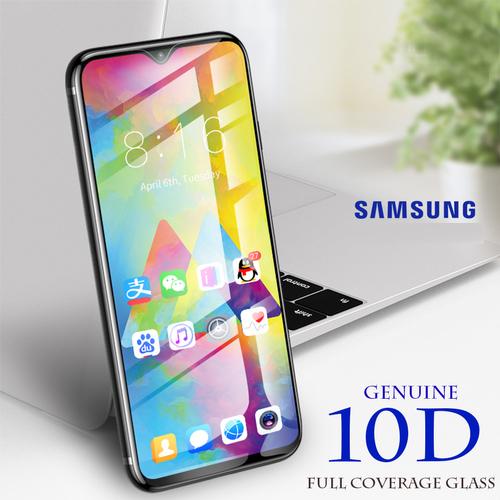 Kính Cường Lực 10D Cho Samsung Galaxy A10 A10S M10 Full Viền (1 miếng dán + bộ vệ sinh màn hình)