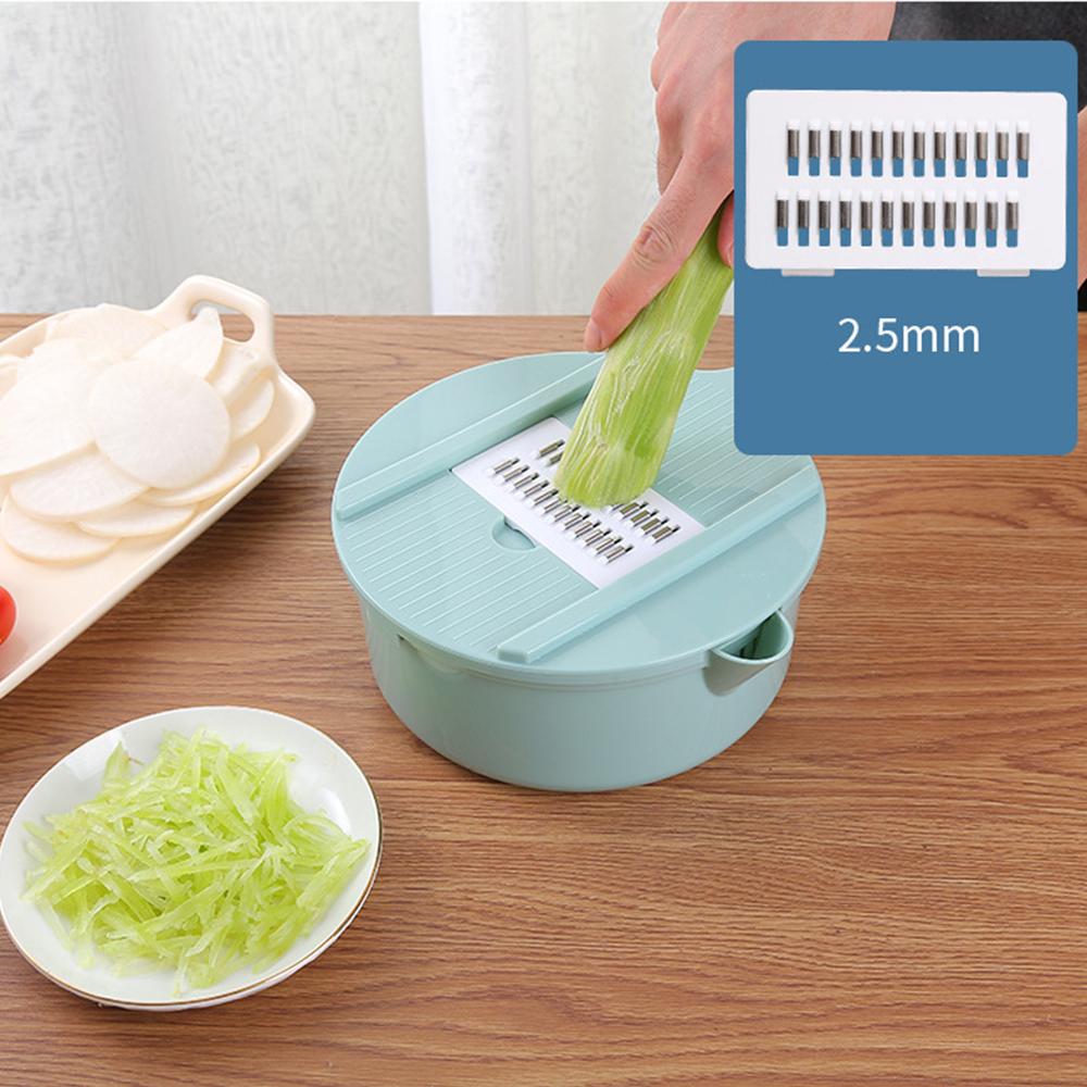 Bộ dụng cụ bào rau củ quả lúa mạch đa năng Dụng Cụ Nhà Bếp Thông Minh (Dụng Cụ Bào Sợi, Thái Lát, Cắt Rau Củ Quả Đa Năng
