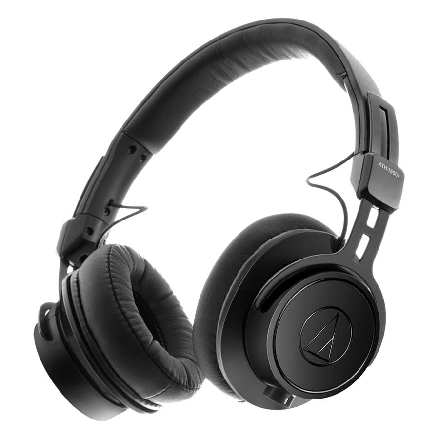 Tai Nghe Chụp Tai Audio Technica ATH-M60x - Hàng Chính Hãng