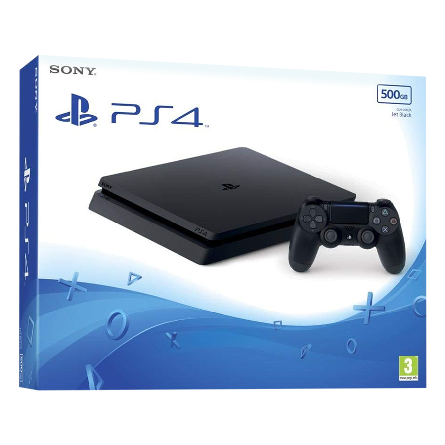 Máy Chơi Game PlayStation Sony PS4 Slim 500GB + Tặng 1 Tay Cầm Và Balo Cực Chất - Hàng Chính Hãng