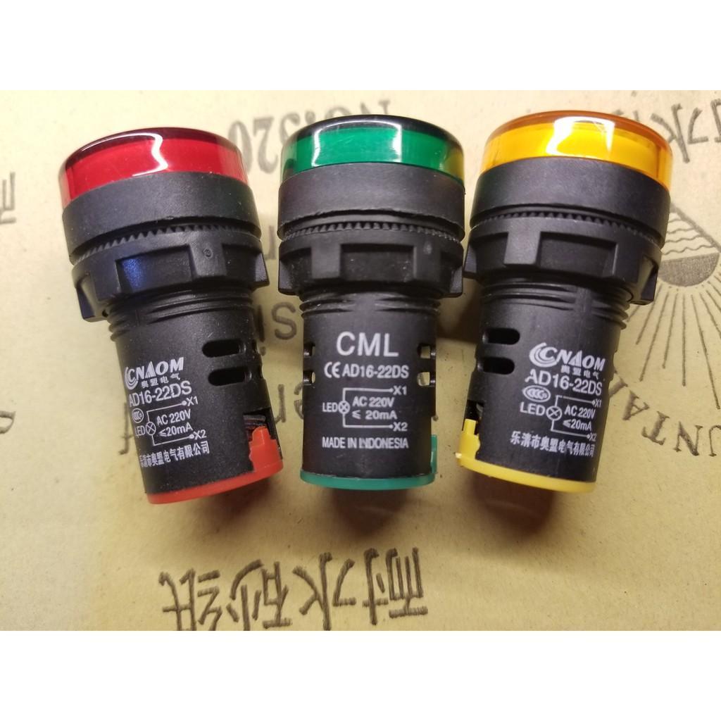 Đèn báo CML AD16-22DS 220VAC