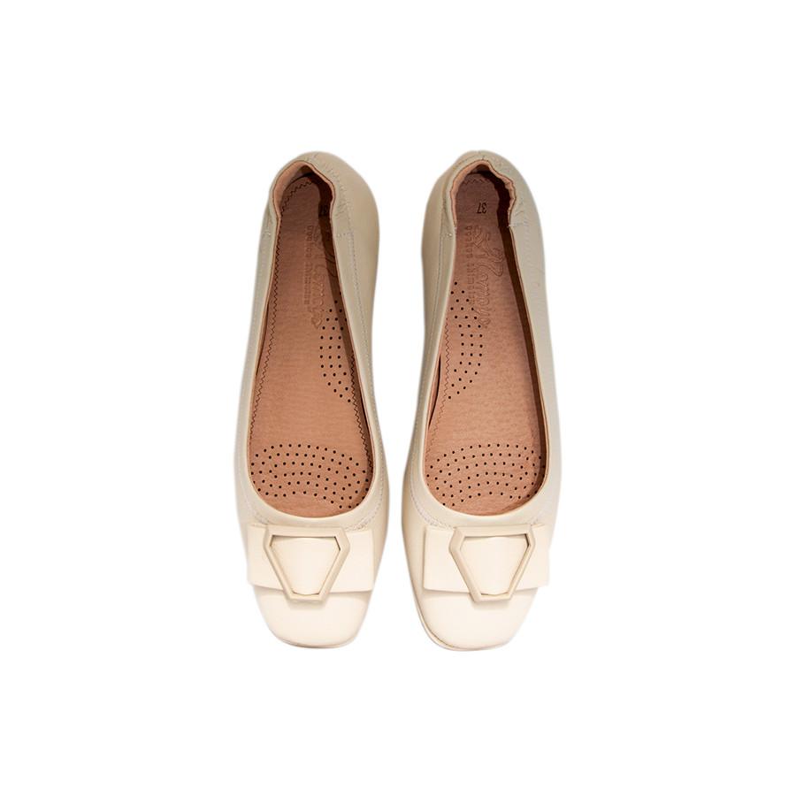 Giày Nữ Búp Bê Tomoyo Da Micro Fiber Siêu Êm Siêu Nhẹ TMW22009