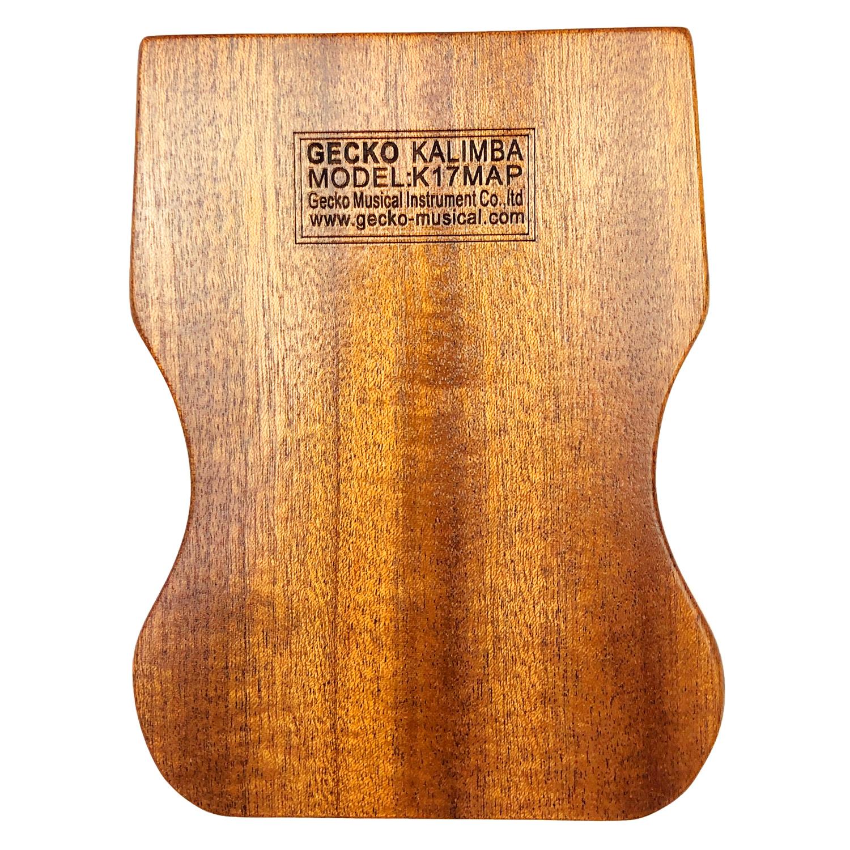 [Khắc Phím] Đàn Kalimba Gecko 17 Phím K17MAP Tone C - Phân Phối Chính Hãng (Gỗ Mahogany  Mbira Thumb Finger Piano 17 Keys) - Kèm Móng Gảy DreamMaker
