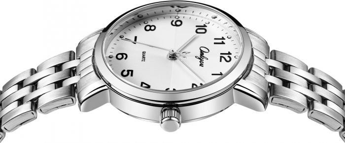 Đồng hồ Onlyou Nữ 81031LA-1 Dây thép không gỉ 30mm