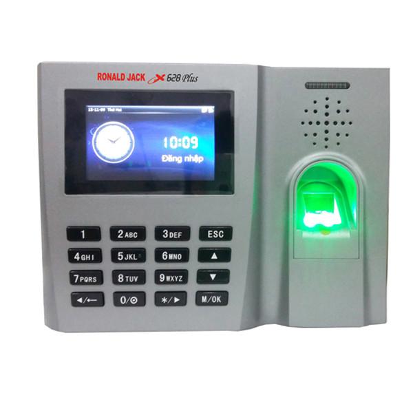 Máy chấm công vân tay và thẻ cảm ứng Ronald Jack X628 Plus (New 2016) - Hàng nhập khẩu