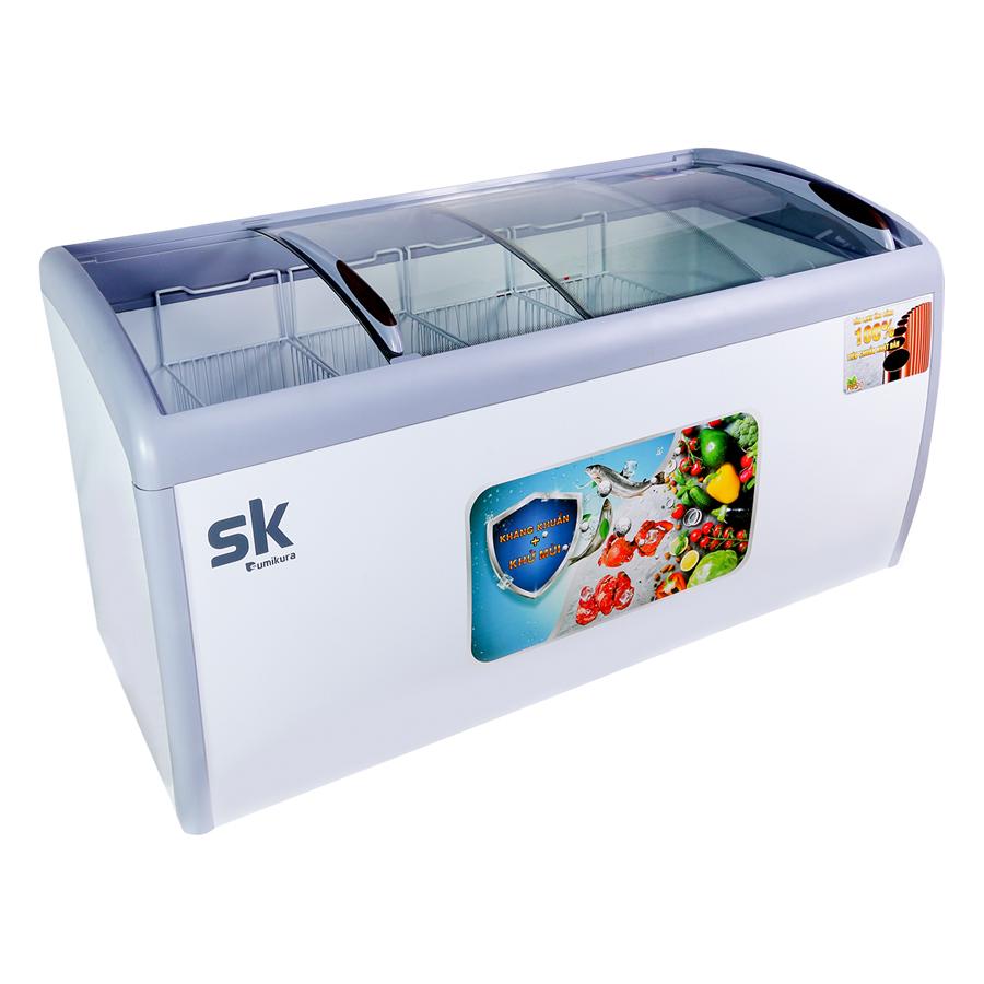 Tủ Đông Kính Lùa Sumikura SKFS-400C (400L) - Hàng Chính Hãng