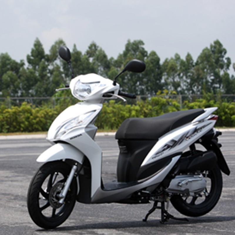 Trọn bộ Tem, decal nổi VISION cũ 2010 dán xe máy bền siêu đẹp A139