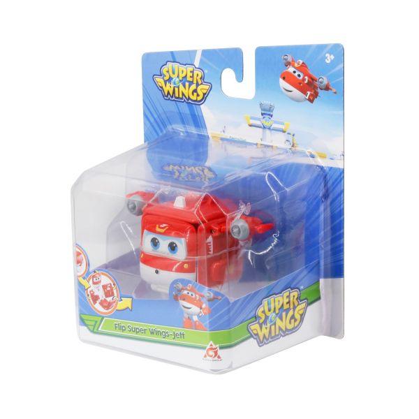 Đồ chơi mô hình SUPERWINGS Hộp biến hình Super wings- Jett tia chớp YW740571