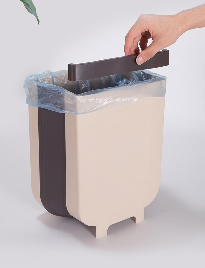 Thùng rác trên xe hơi- thùng rác gấp gọn