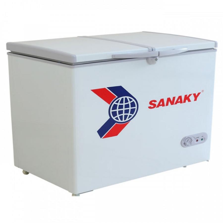 Tủ Đông Sanaky VH-255A2 1 Ngăn 2 Cửa (208L) - Hàng Chính Hãng