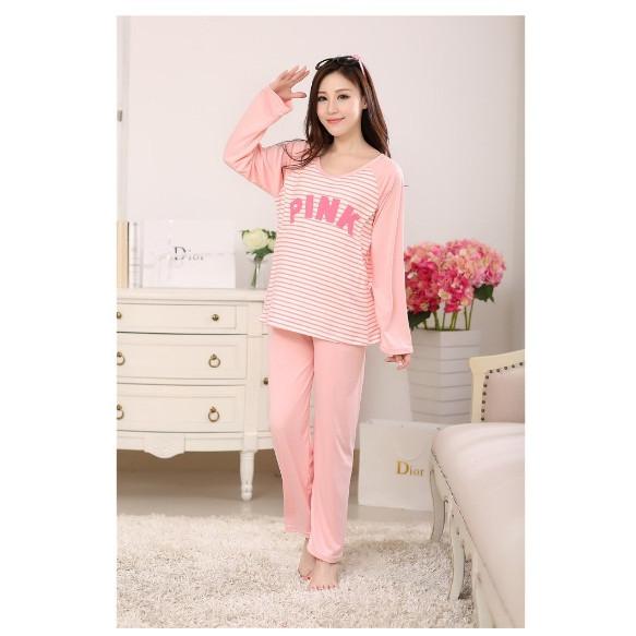 Bộ bầu Pink cotton cao cấp BD4408