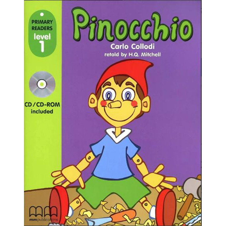MM Publications: PINOCCHIO (with CD-ROM) British & American Edition
