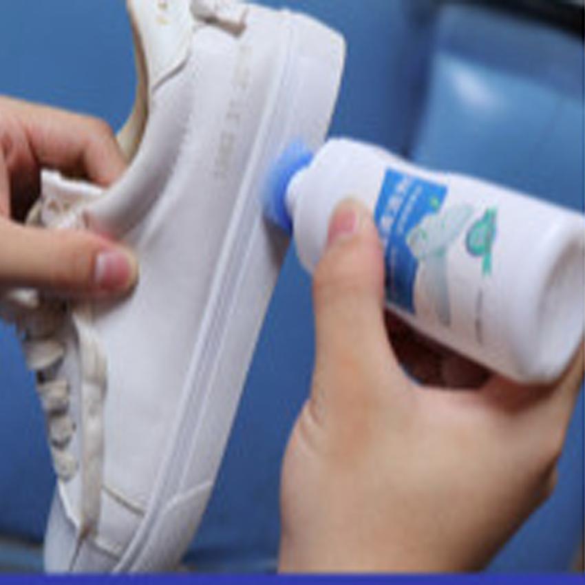 Chai Nước Rửa Giày, Dung Dịch Vệ Sinh Túi Xách, Nước Lau Giày, Túi Xách Plac Thần Thánh - Đầu Cọ, chai tẩy trắng giày dep / làm sạch túi xách/ tẩy ố giày dép túi xách 206735