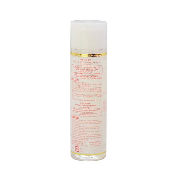Nước Tẩy Trang Canmake Refresh Cleansing Water (All Skin Type)