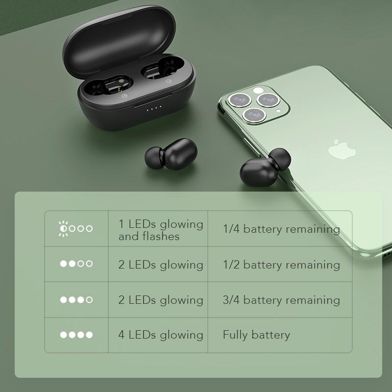 Tai Nghe True Wireless HAYLOU GT1 XR ( Phiên Bản Nâng Cấp Của GT1 Pro) - Hàng Chính Hãng