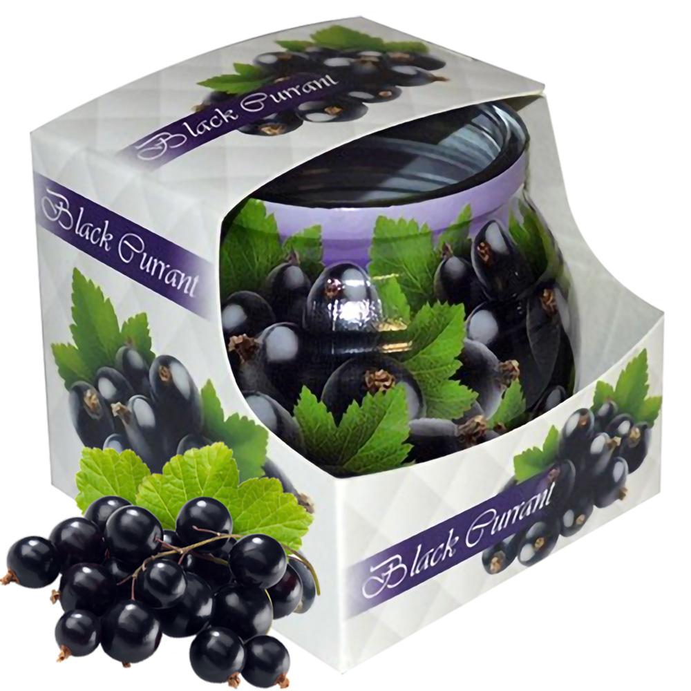 Ly nến thơm tinh dầu Admit Black Currant 85g QT04541 - nho chuỗi ngọc đen